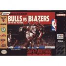 Bulls vs Blazers and the NBA playoffs Super Nintendo Game