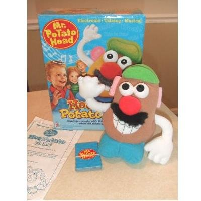 Electronic Talking Musical HOT POTATO Game Mr. Potato Head Milton Bradley (2002)