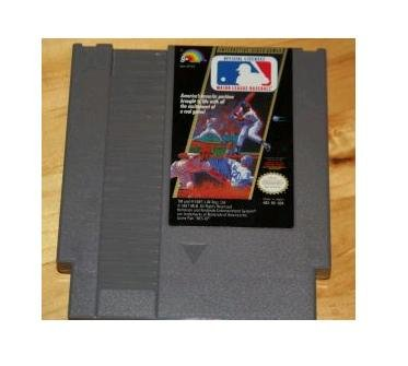 MAJOR LEAGUE BASEBALL ~ Original 8-bit Nintendo NES Game Cartridge