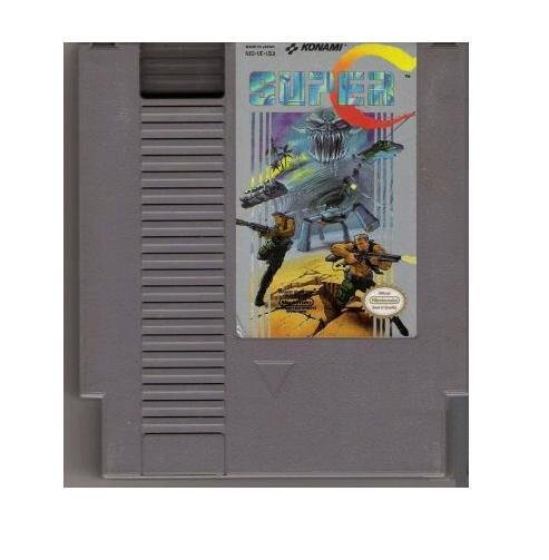 Super C ~ Original 8-bit Nintendo NES Game Cartridge