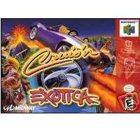 Cruis'n Exotica with Box and Manual ~ N64 Nintendo 64