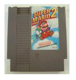 SUPER MARIO BROS. 2 ~ Original 8-bit Nintendo NES Game Cartridge with Manual