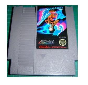 WINTER GAMES ~ Original 8-bit Nintendo NES Game Cartridge