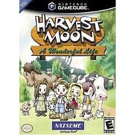 Harvest Moon a Wonderful Life ~ Nintendo GameCube Wii