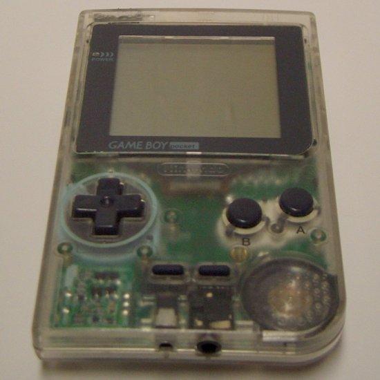 Game Boy Pocket  Grey/Clear MGB-001 (1996)