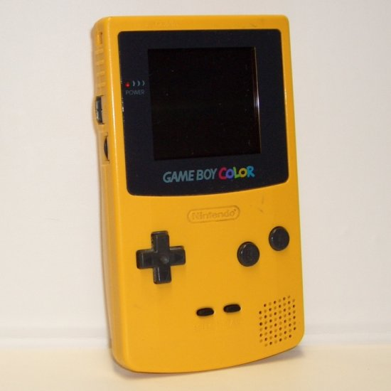 Game Boy Color Yellow CGB-001 (1998)