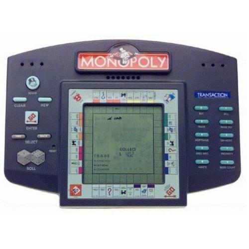 MONOPOLY HANDHELD ELECTRONIC GAME 1997 Hasbro