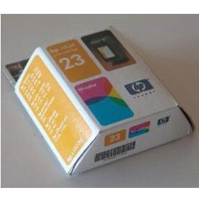 NEW GENUINE Hewlett Packard HP 23 INKJET TRI-COLOR CARTRIDGE C1823D