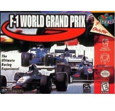 F-1 World Grand Prix ~ N64 Nintendo 64