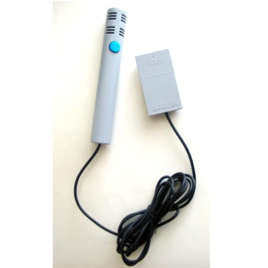 Nintendo Gamecube Microphone DOL-022 as originally sold with GameCube Mario Party 6 & 7