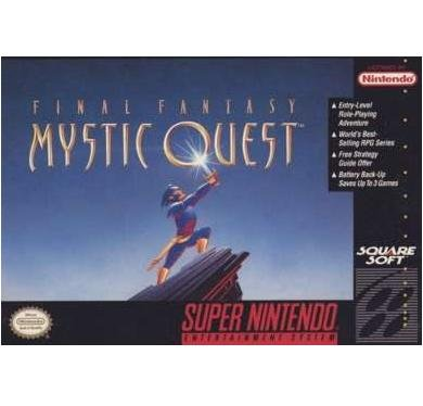 Final Fantasy Mystic Quest  Super Nintendo Game