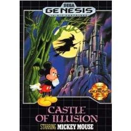 CASTLE OF ILLUSION Sega Genesis Game Complete