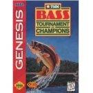 BASS TOURNAMENT OF CHAMPIONS Sega Genesis Game Complete