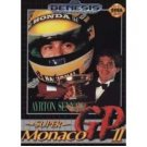 AYRTON SENNA'S SUPER Monaco GP II Sega Genesis Game Complete