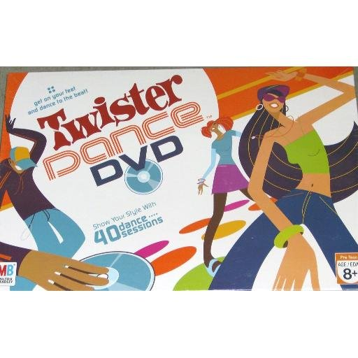 Hasbros Twister Dance DVD Game New in Box Sealed