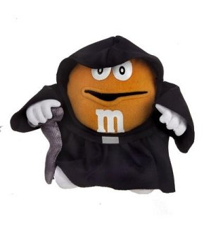 "STAR WARS M&M  Chocolate Mpire 12""  PLUSH EMPEROR PALPATINE New in Package"