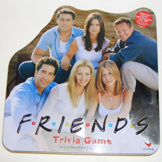 FRIENDS COLLECTORS EDITION TRIVA GAME Mint 2002 by Cardinal