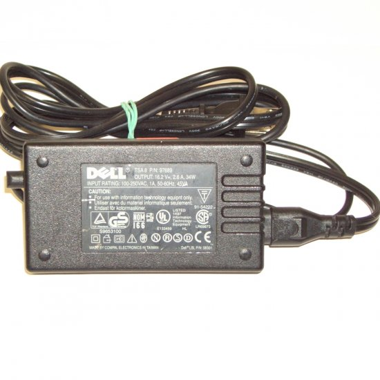 Dell TSA-8 TSA8 16.2V 2.6A  P/N: 97689 OEM  Power Adapter Latitude