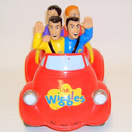 The Wiggles Musical moving Big Red Car