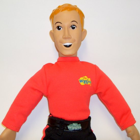 "The Wiggles Talking & Singing 15"" MURRAY Doll no shirt"