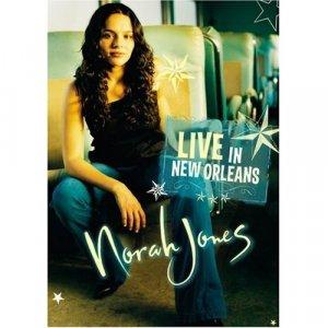 Norah Jones - Live in New Orleans Factory Sealed 2003 DVD