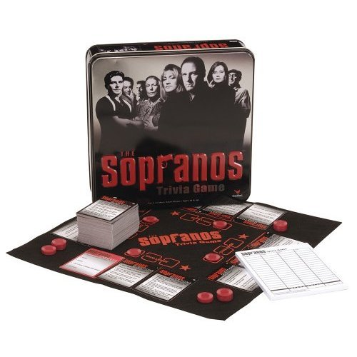 The Sopranos Trivia Game by Cardinal Industries in Collectible Tin