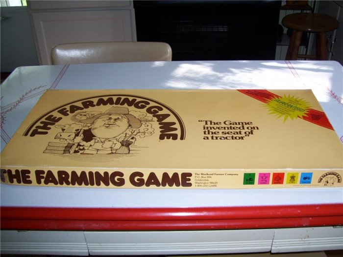 Original 1979 THE FARMING GAME by Weekend Farmer