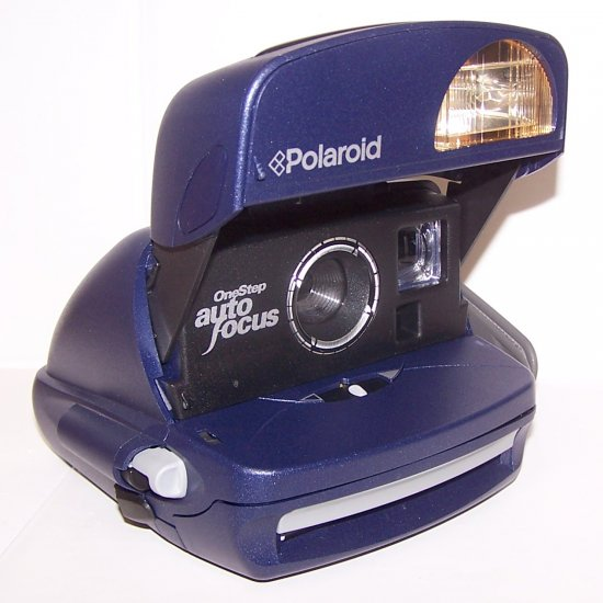 Polaroid One Step Auto Focus 600 Instant Camera Excellent Condition one step