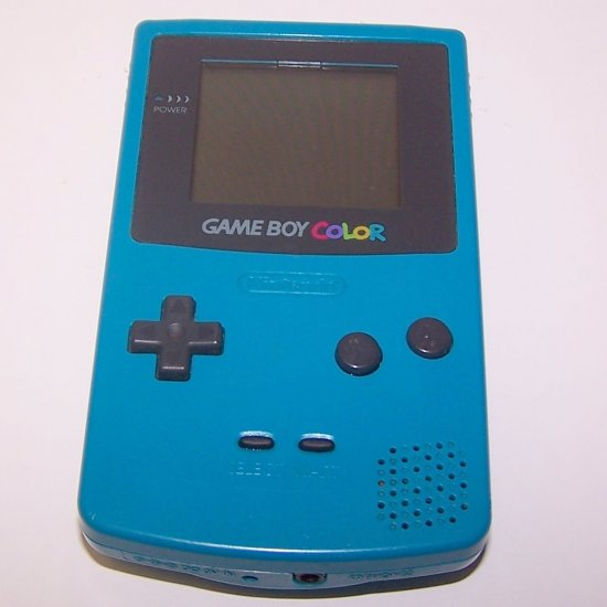 Nintendo Game Boy Color - Handheld game system - teal