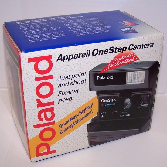 Polaroid OneStep Closeup Instant Camera in Box