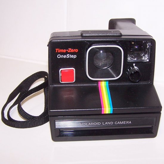 POLAROID LAND CAMERA ONE STEP TIME ZERO  SX70 FILM
