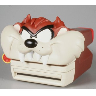 Warner Brothers Tasmanian Devil Taz Polaroid Camera
