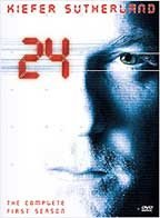 24 - Season 1 Kiefer Sutherland  2002, DVD