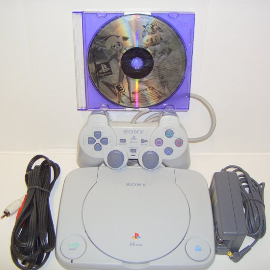 PSone PlayStation PS1 Mini System with Crash Team Racing Game  SCPH-101
