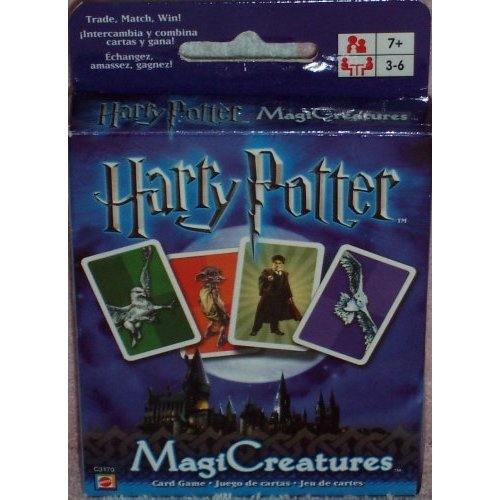 Harry Potter MagiCreatures Card Game by Mattel