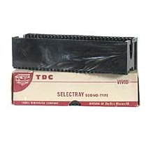 16 TDC 30 Selectray Econo-Type Slide Tray- Boxed -