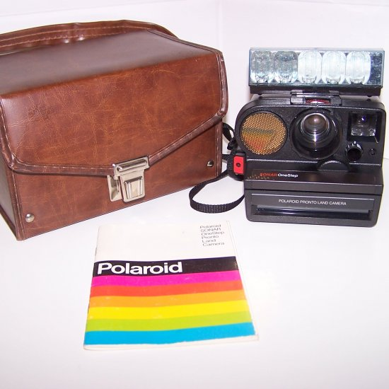 Polaroid Sonar OneStep Pronto Land Instant Camera