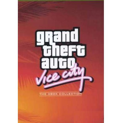 Grand Theft Auto Vice City Xbox Complete