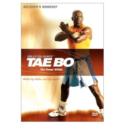 Billy Blanks' Tae  Bo Believers Workout - Power Within (2003) Factory Sealed  DVD