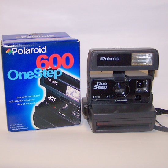Polaroid One-Step 600 Instant Camera OneStep In Box