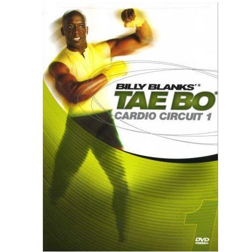 BILLY BLANKS TAE BO CARDIO CIRCUIT 1 DVD NEW SEALED