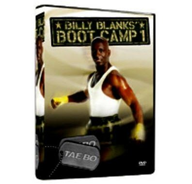 NEW BILLY BLANKS' BOOT CAMP 1 DVD TAE BO BILLY BLANKS
