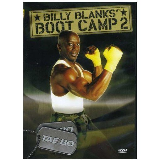 TAE BO BILLY BLANKS BOOT CAMP VOL 2 DVD BILLY BLANKS NEW