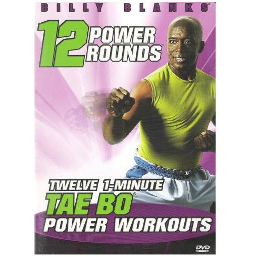 Billy Blanks - 12 Power Rounds - Tae Bo DVD - Brand NEW