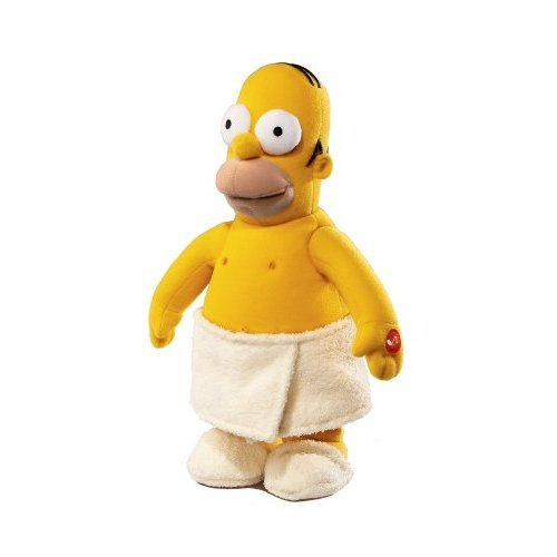 "Russ Berrie 13.8"" Simpsons Macho Man Homer - Sings And Dances To ""Macho Man"""