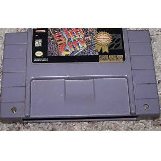 Sim City Super Nintendo Game
