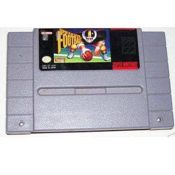 SUPER PLAY ACTION FOOTBALL Super Nintendo Game