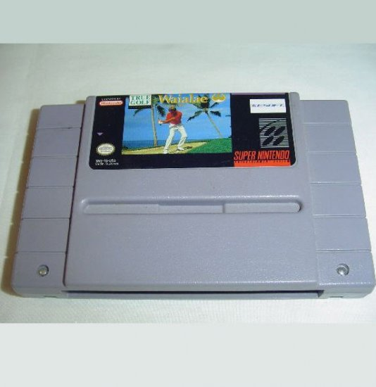 WAIALAE COUNTRY CLUB Super Nintendo Game