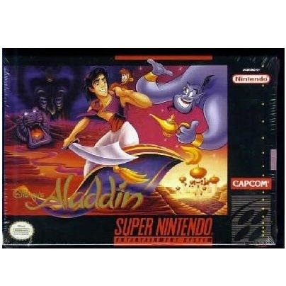 ALADDIN Super Nintendo Game in Box