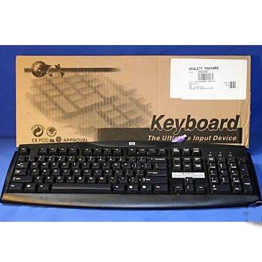 HP BASIC PS/2 KEYBOARD 333533-001 N